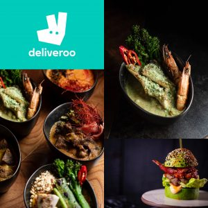 Deliveroo or Contactless collection