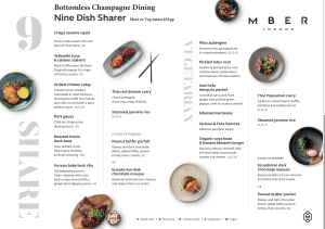 Bottomless Champagne Dining £65pp
