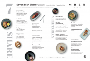 7 Dish Sharing Lunch Experience with Wine from £28 pp!!